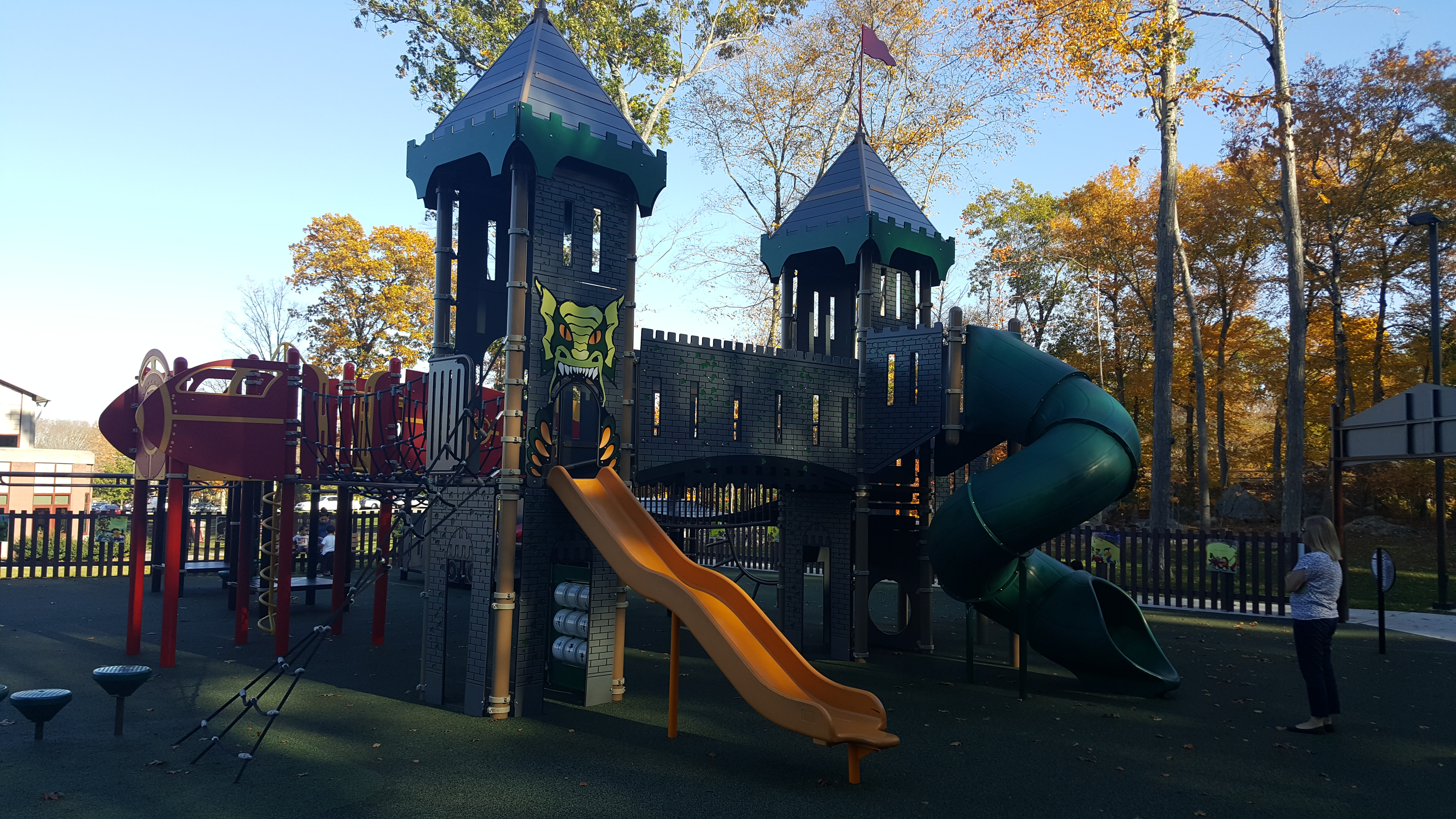Mansfield Connecticut Playground Landscape Structures