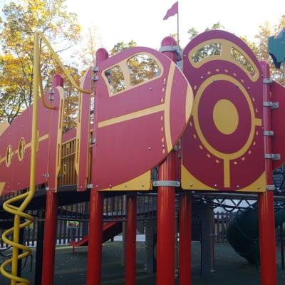 Mansfield Connecticut Playground Landscape Structures