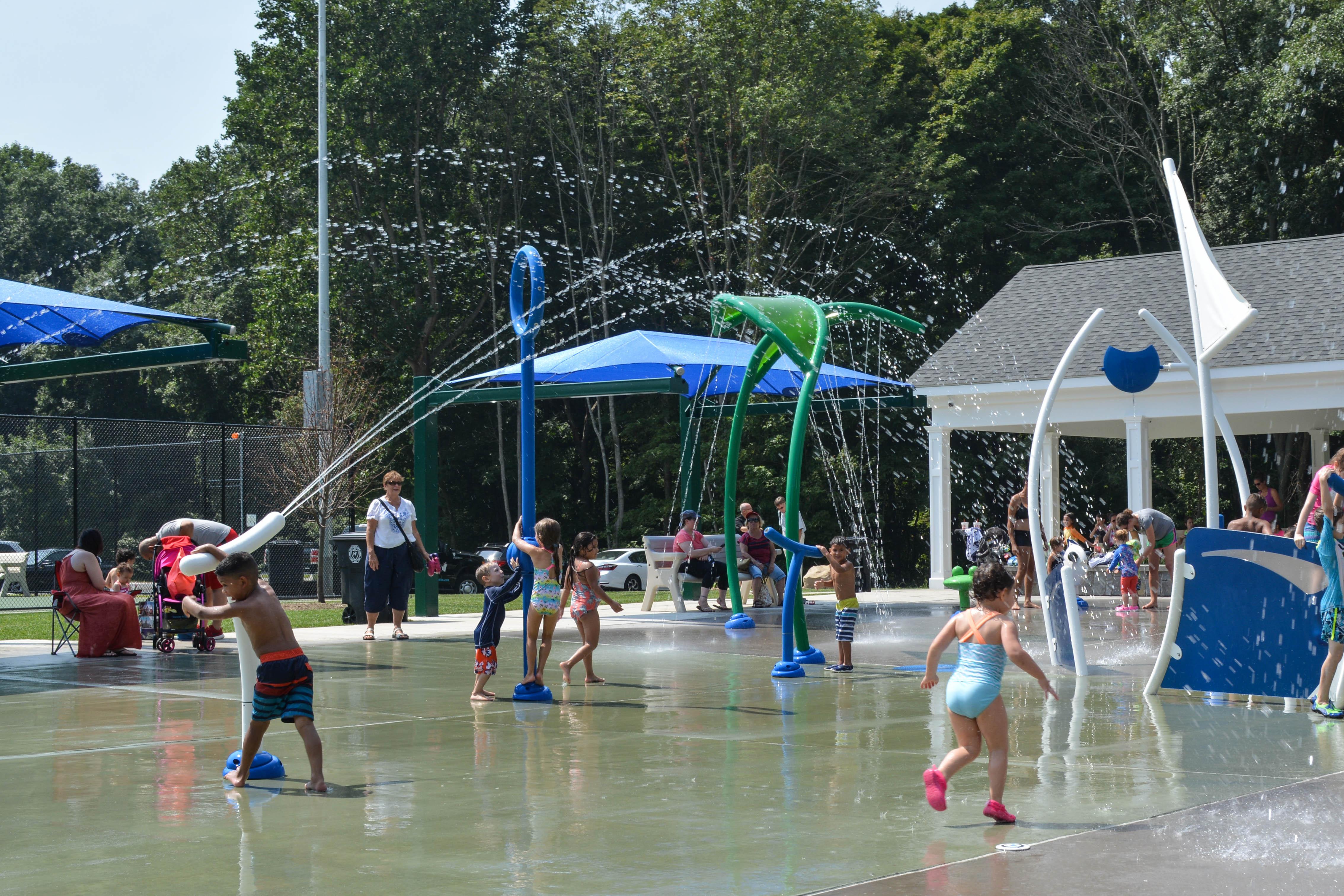 Vortex Splashpad Eisenhower Park Milford Connecticut