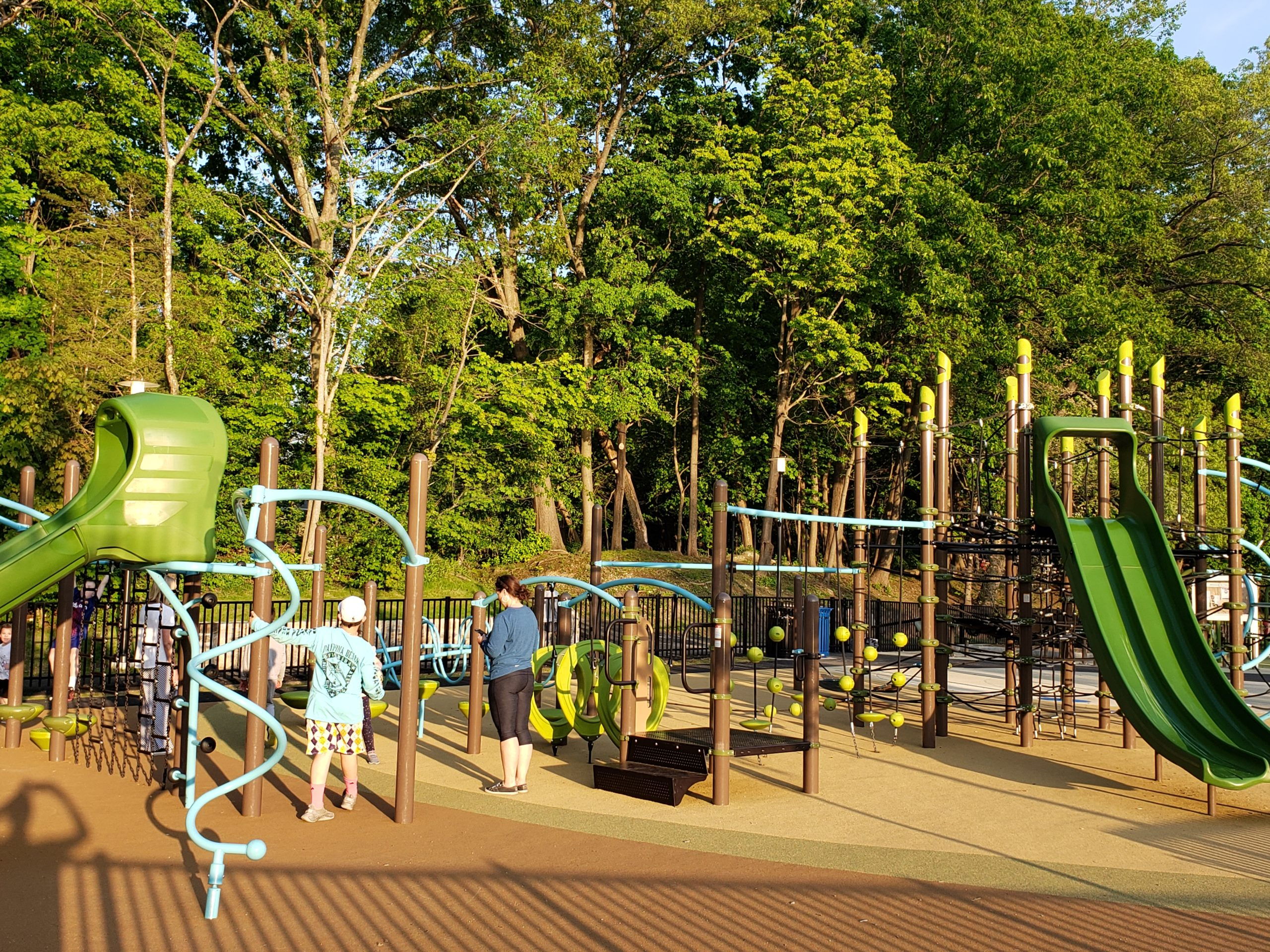 Choate Park Medway Massachusetts Landscape Structures Playground